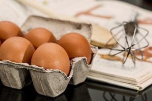 Eggs to represent recipe app