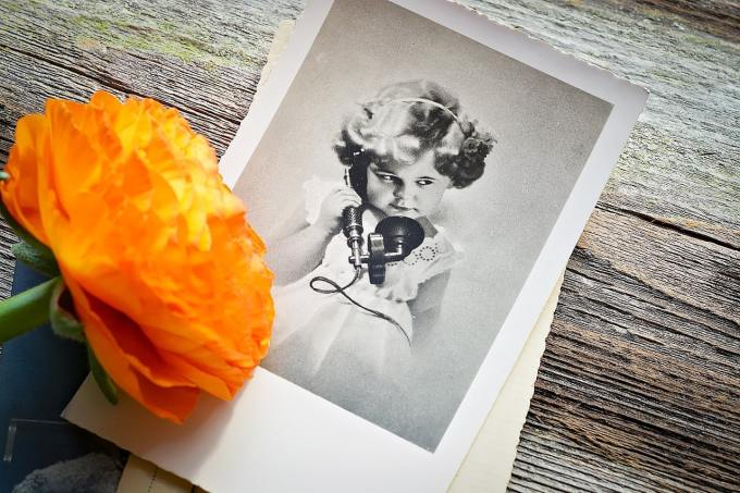 Old fashioned photo to illustrate possible shift from using a website to using social media to promote a business.