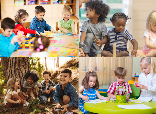 The Benefits of Play Pods and Small Groups for Preschoolers & Kids