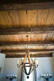 Breathtaking Rustic Ceiling Light Design 14
