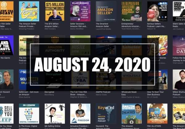 2020-08-24 Amazon Seller Updates