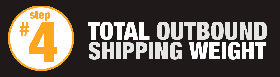 4 - Outbound Shipping Weight
