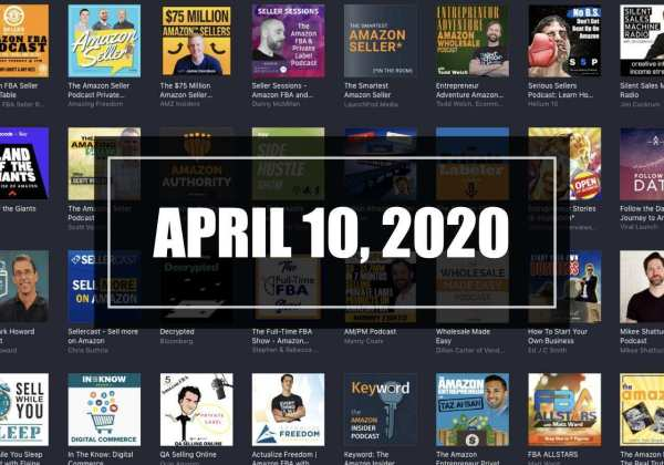 Amazon Seller News April 10 2020