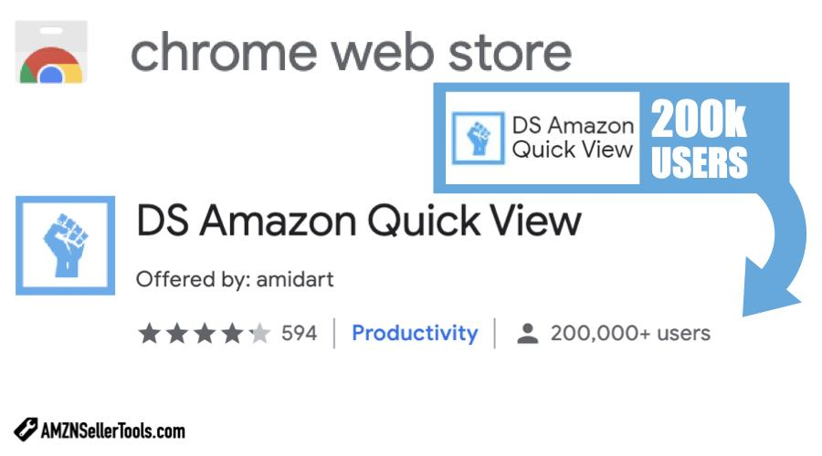 DS-Amazon-Quick-View-Chrome-Extension