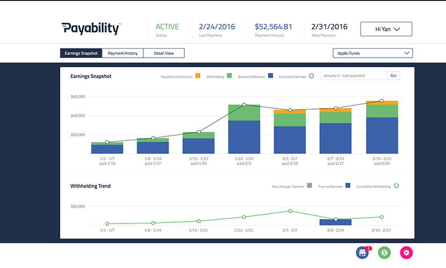 Payability Payments Software Screenshot
