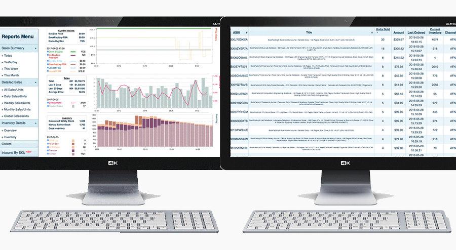 SalesDash Screenshot