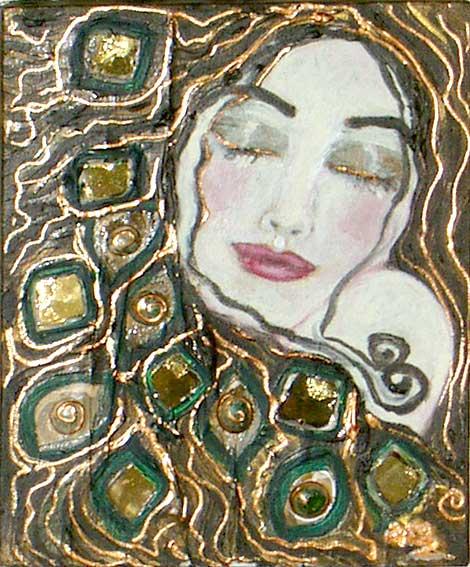64- La femme émeraude - Collection privée