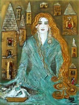 81- La dame des eaux - Collection privée