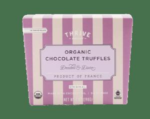 Organic Chocolate Truffles Thrive Market (Cruelty-Free Valentine's Day)