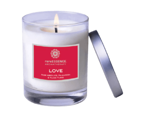 Love Soy Candle RareEssence (Cruelty-Free Valentine's Day)