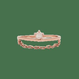 Chain Ring Pura Vida (Cruelty-Free Valentine's Day)