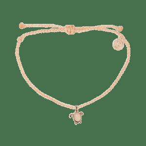 Sea Turtle Bracelet Pura Vida (Cruelty-Free Valentine's Day)