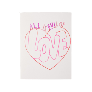 All Is Full of Love Catbird (Cruelty-Free Valentine's Day)