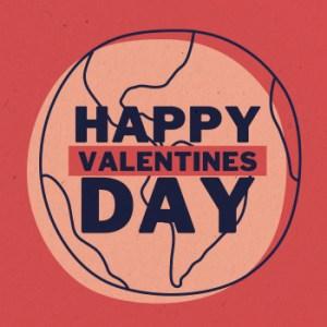 Eco-Friendly eCard Friends of the Earth (Cruelty-Free Valentine's Day)