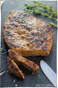 Seitan Steak It Doesn't Taste Like Chicken (Cruelty-Free Valentine's Day)
