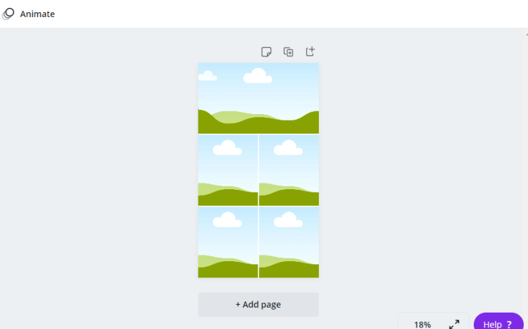 Canva Grid Vision Board
