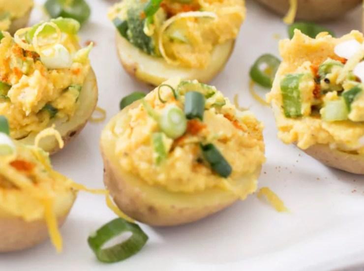 Vegan Deviled Eggs Potatoes