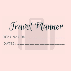 Free Travel Planner | An Ideal Life