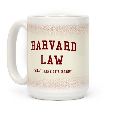 Legally Blonde Harvard Mug