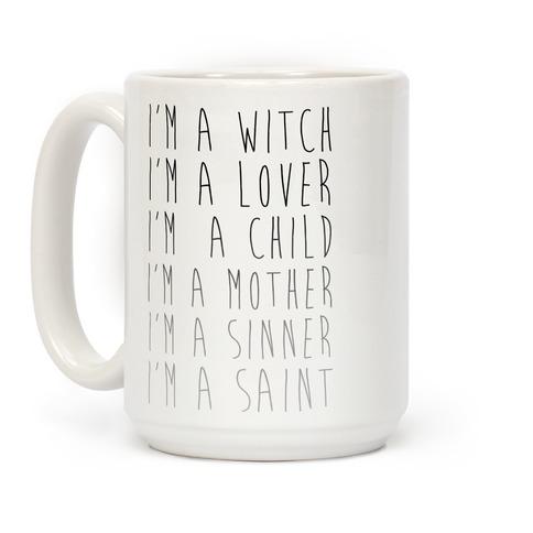 I'm a Witch I'm a Lover Mug