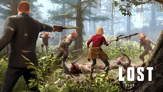 LOST in Blue Survive the Zombie Islands MOD APK android 1.29.3