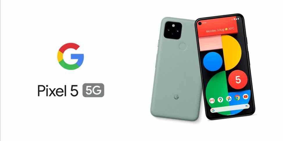 Sunulan Pixel 5 ve Pixel 4a 5G