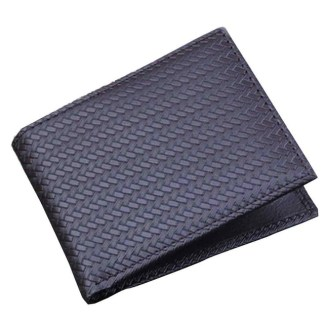 Bifold Business Credit Card Money PU Leather Men Wallet