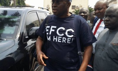 The Economic and Financial Crimes Commission  (EFCC) has re-arraigned the embattled former Governor of Ekiti, Ayodele Fayose before a Federal High Court in Lagos under Justice Chukwujekwu Aneke.