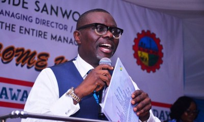 Lagos State Governor, Babajide Sanwo-Olu on Monday signed the 2019 appropriation bill of N873.5bn into law.