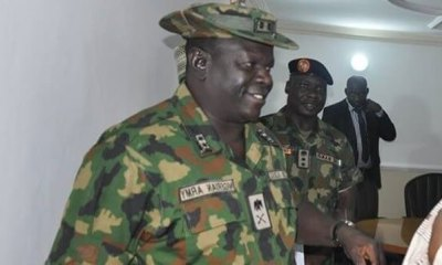 Breaking: Corpse Of Missing Army General Found