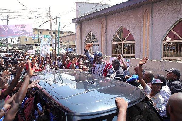 Breaking: INEC Declares APC's Sanwo-Olu Winner Of Lagos Guber Poll
