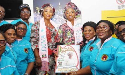 What Sanwo-Olu's Wife Promised To Do For Retired Medical Personnel