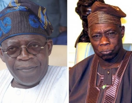 Tinubu Bombs Obasanjo Over Attack On Buhari, Osinbajo