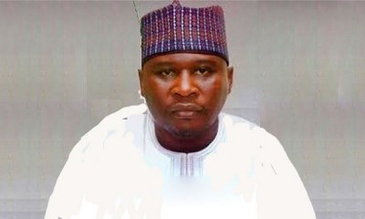 The candidate of the Peoples Democratic Party (PDP), Ahmadu Fintiri, has just been declared winner of the Adamawa State governorship election.