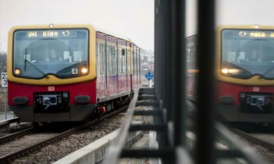 A 39-year-old man and a 37-year-old woman have been fined $8,400 for having sex in the middle of the day on a Berlin train, a court spokesman said on Thursday.
