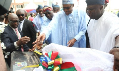 President, Muhammadu Buhari has unveiled the newly reconstructed Institute of Maternal And Child Health, popularly known as Ayinke House located within the premises of Lagos State University Teaching Hospital (LASUTH) in Ikeja,