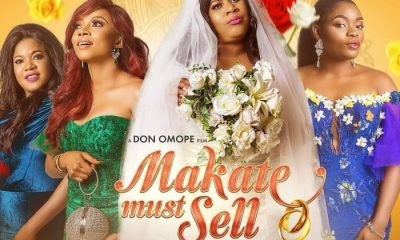 On-air Personality (OAP), Toke Makinwa has made acting debut in a comedy movie, 'Makate Must Sell.'