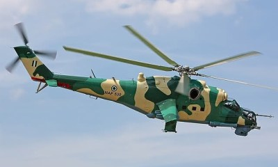 An aircraft man, Umaru Abdul-Ganimu, has been killed by the blade of the Nigerian Air Force helicopter in the Bama area of Borno State.