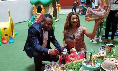 Nollywood actress, Tonto Dike, has reacted to the decision of her estranged husband, Olakunle Churchill, to petition the Inspector General of Police, IGP Mohammad Adamu against her.