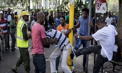 The growing but almost silent xenophobic attacks on Nigerians in South Africa has taken on a new turn after the brutal killing of 34-year-old Samuel Nkennaya in a mob attack that left another Nigerian, Chinonso Nwudo in critical condition in a South African hospital.