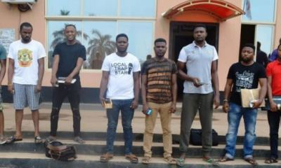 EFCC Arrests 7 Yahoo Boys In Lagos (Full List)