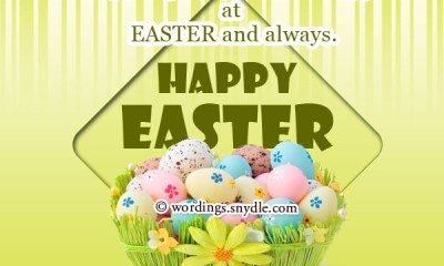 50 Lovely Easter Messages And Prayers To Send To Friends, Family