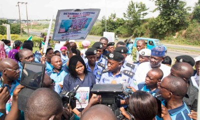 The Women Arise for Change Initiative on Monday, 29th April 2019 in Osogbo, Osun State, protested against the illegal detention of a nursing mother, Mrs Rofiat Oladepo and her nine months old son by the Zone 11 of the Nigeria Police Force.