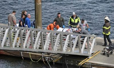Five people were killed and 10 injured after two aircraft collided in midair over Alaska. The collision took place in Coon Cove, according to the Federal Aviation Administration.