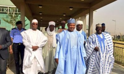 Gov. Atiku Bagudu of Kebbi and his deputy, Alhaji Samaila Yombe were on Wednesday in Birnin Kebbi sworn -in for a second term in office by Grand Khadi, Mukhtar Jega.
