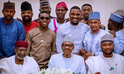 President Buhari Gives Nigerian Celebrities Serious Warning