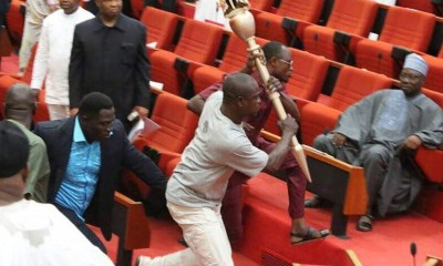 The National Assembly had in April last year after the mace theft saga in Senate, set up an Ad-hoc committee under the Chairmanship of the deputy Senate Leader, Senator Bala Ibn Na'Allah to carry out a thorough investigation on the ugly incident and recommend appropriate sanctions for whoever found to have been involved.