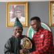 Nigeria-born Ultimate Fighting Championship (UFC) Interim Middleweight Champion, Israel 'The Last Stylebender' Adesanya met with Ogun State Governor, Senator Ibikunle Amosun at his Oke-Mosan, Abeokuta office, on Thursday.