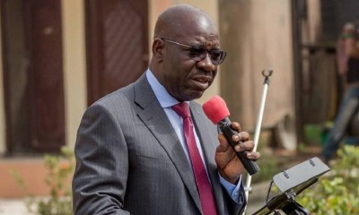 Governor Godwin Obaseki of Edo State has denied rumours that he is having issues with state leaders of the All Progressives Congress (APC).