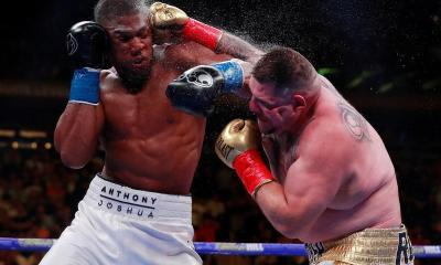 Reactions have trailed Twitter a microblog over Anthony Joshua's shock defeat to Mexican-American boxer, Andy Ruiz Jr.